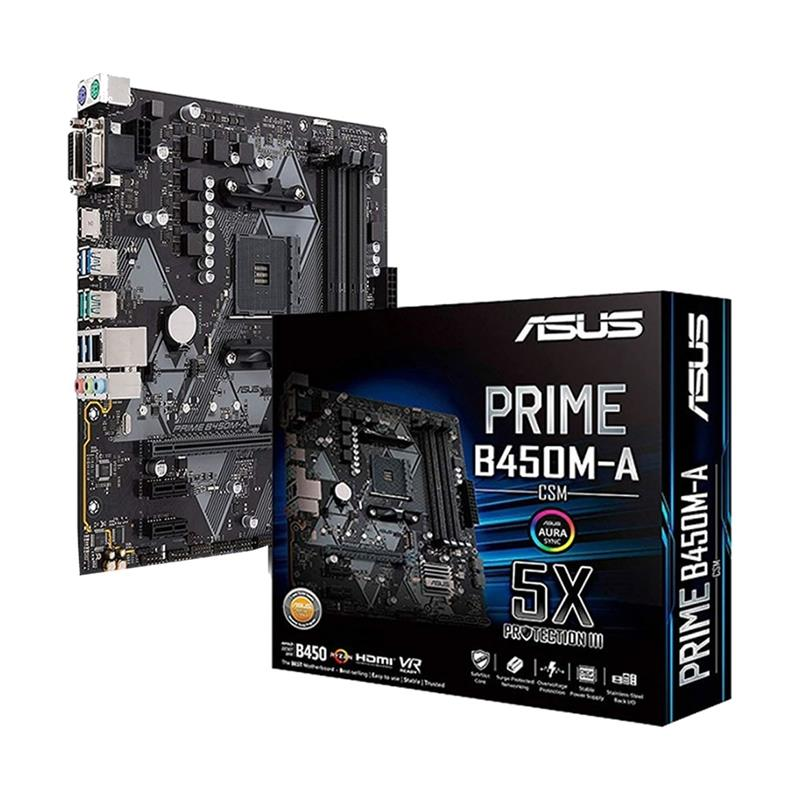 MOTHER ASUS PRIME B450M-A/CSM DDR4 AM4 V/D/H/M.2