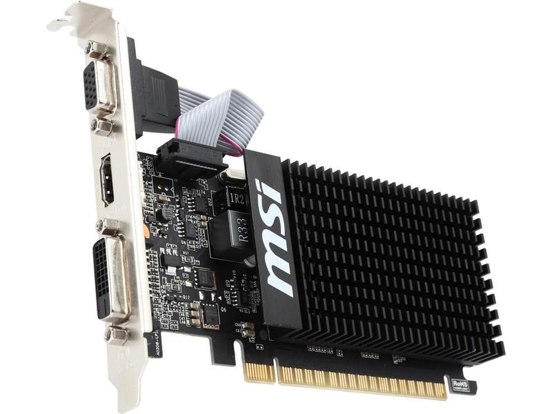 PLACA MSI GT 710 1GB 1GD3H LPV1