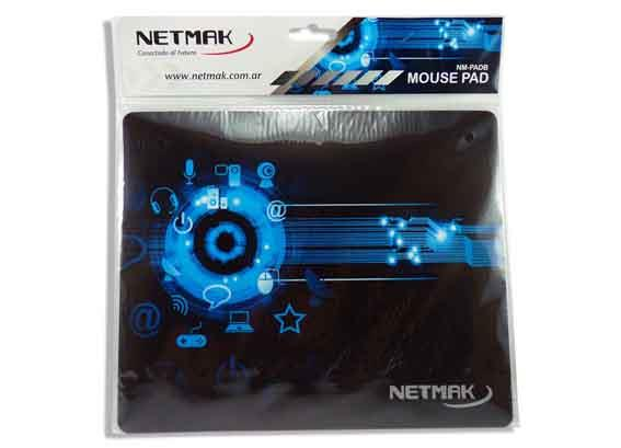 NETMAK PAD MOUSE BLUE DESIGN NM-PADB