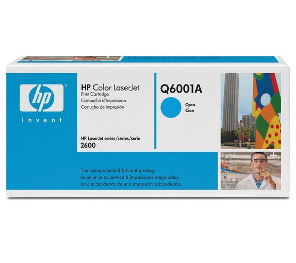 TONER HP Q6001A CYAN LJ2600N SERIES