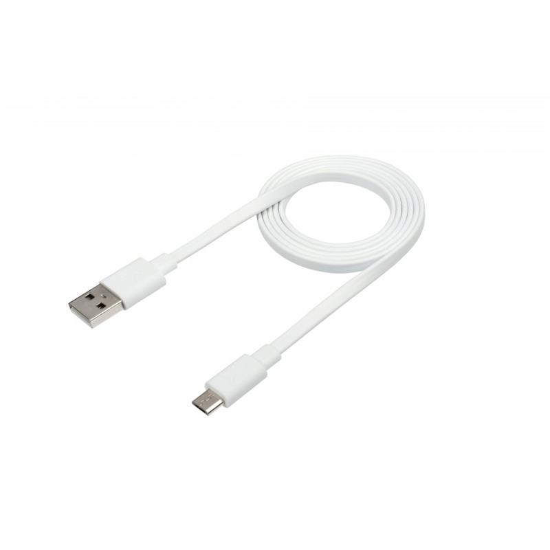 CABLE USB A MICRO USB/1.2 METRO/MALLADO/BLANCO USB-4_BLANCO
